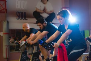 Group cycling 3-1-5 Health Club