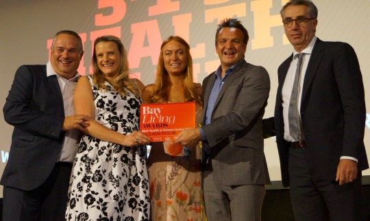 3-1-5 Health Club Named Winner for BEST Health and Fitness Centre in the Bay Living Awards