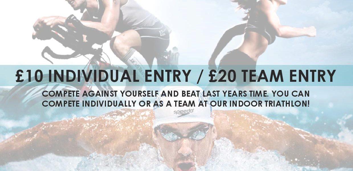 3-1-5 Health Club Annual Indoor Triathlon Event