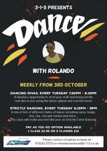 3-1-5 presents Dance with Rolando!