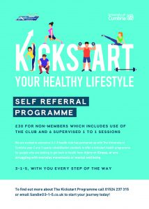 Kickstart your new Healthy Lifestyle