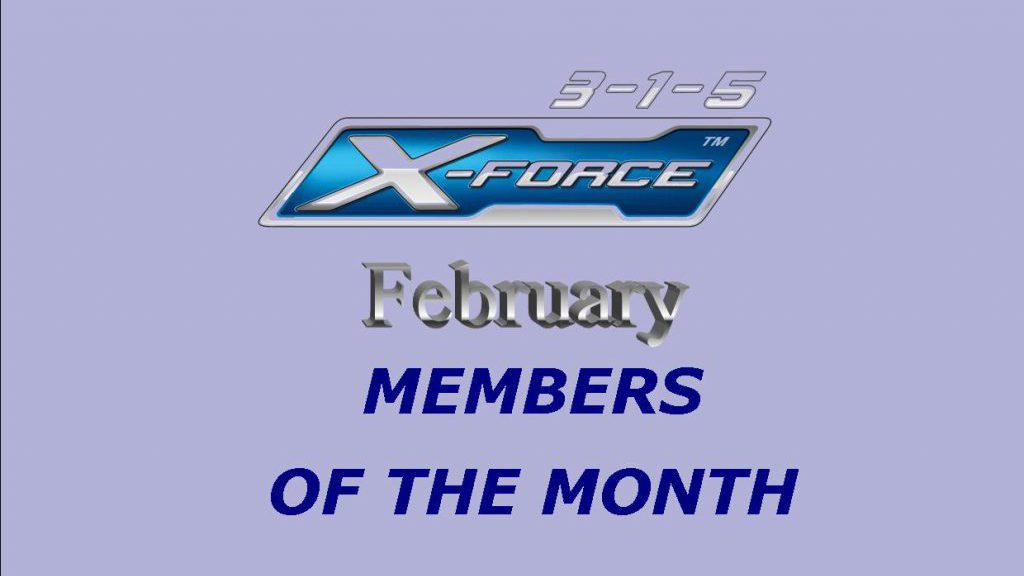 Members of the Month – February 2018