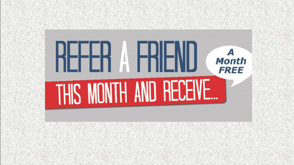 Member Referral Programme