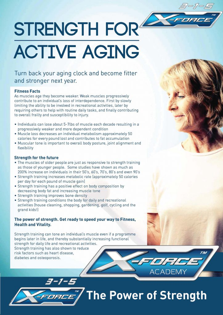 Strength for Active Aging