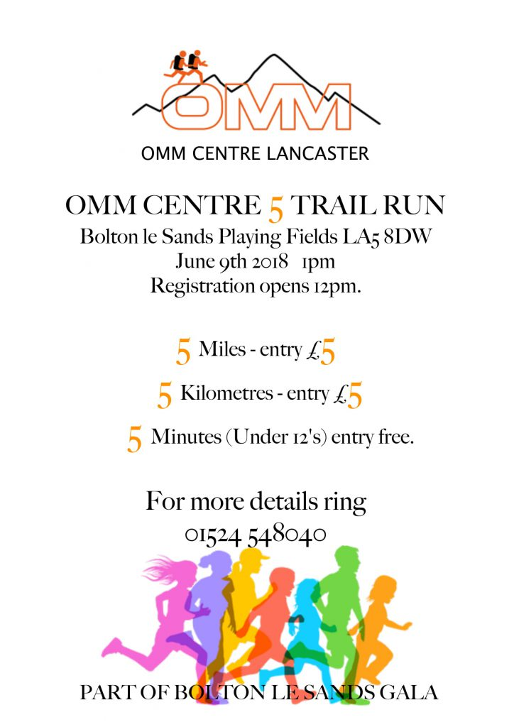 OMM Centre 5 Trail run