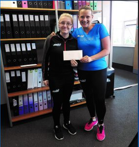 Lucie - Staff member of the month - 3-1-5 Health club