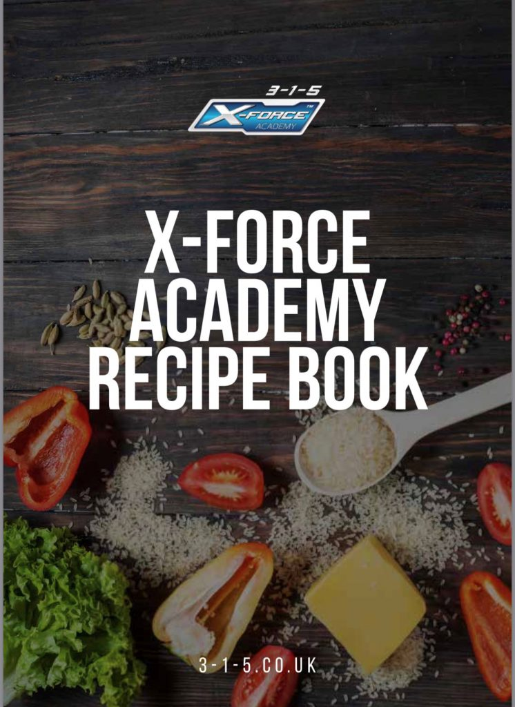 X-Force Academy Recipe book now live!