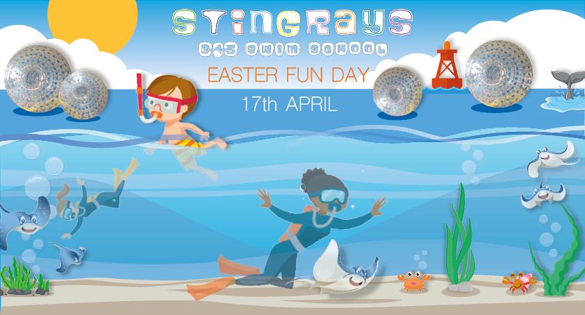Easter Fun Day at Stingrays 3-1-5 Swim School!