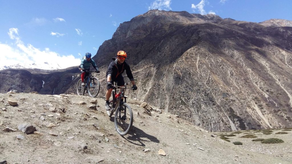 Sean blog - Nepal bike
