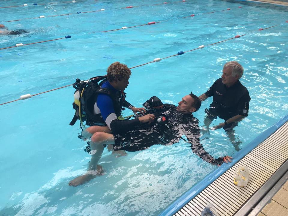 3-1-5 Health Club - Disability Dive Day
