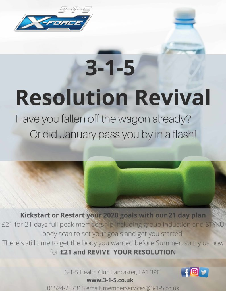 3-1-5 Health Club - resolution revival