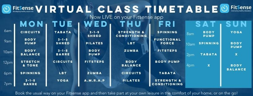 virtual timetable