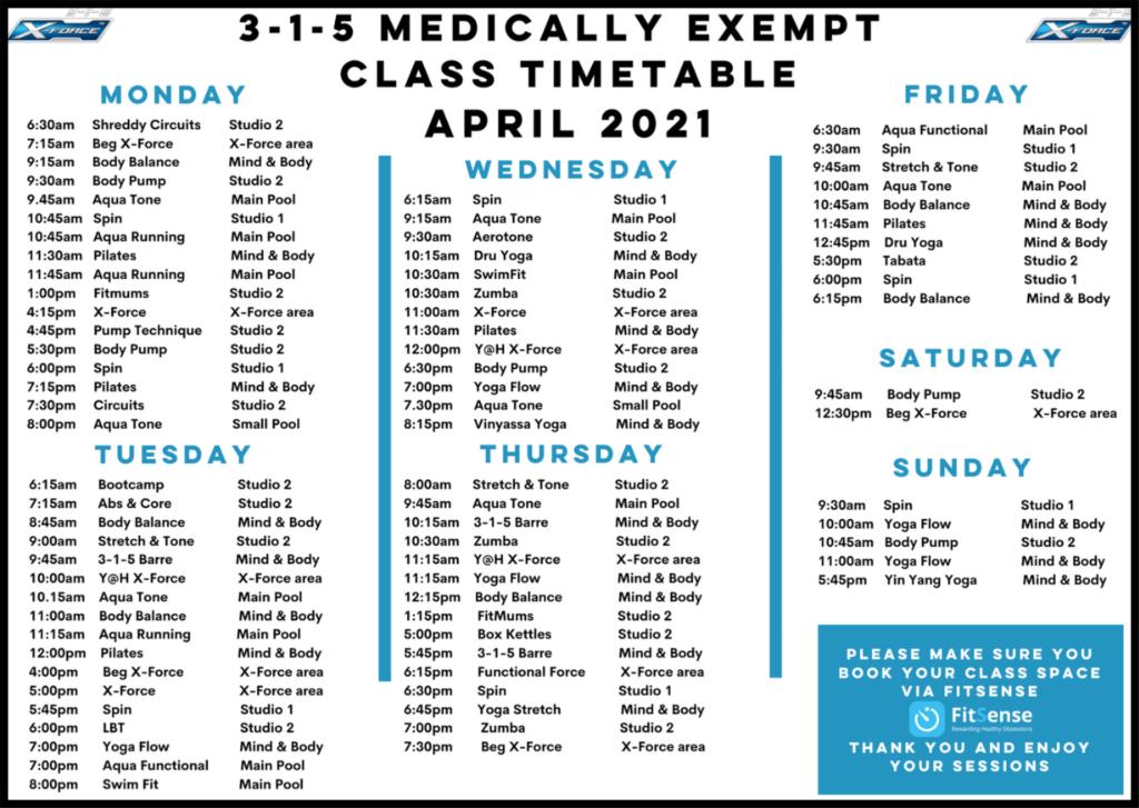 medicall exempt