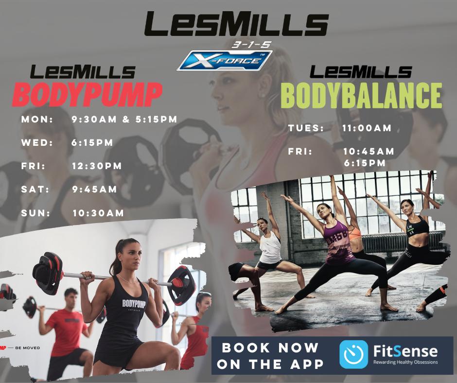 Les Mills Launch 3-1-5 Health Club