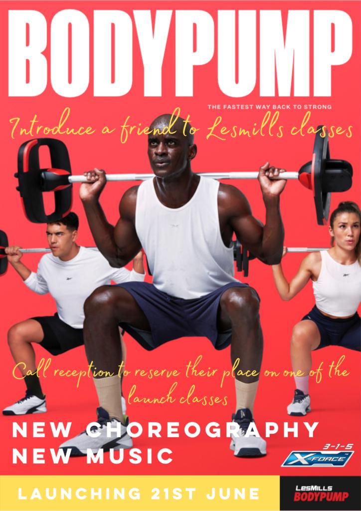 BodyPump 3-1-5 Health Club